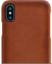 Serenity Leather Back Cover Apple iPhone X/XS Burnished Brown