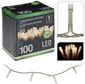 Kerstverlichting 100 led-lampjes warm wit