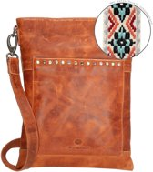 MicMacbags New Navajo Crossbodytas - Cognac