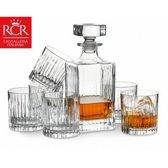 RCR Timeless Whiskey Karaf - Incl. 6 Glazen - Kristalglas