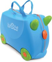 Trunki Ride-On Terrance - Kinderkoffer - 46 cm - Blauw