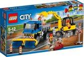 LEGO City Veeg- en Graafmachine - 60152