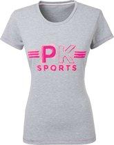 PK International - Kayne - Shirt - Grey Melange - Maat XL/42