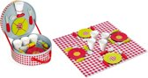 Janod Picknickkoffer Inclusief 21 accessoires