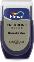 Flexa Creations Muurverf Tester 3029 Camouflage Green 30ml