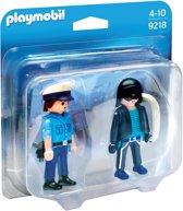 PLAYMOBIL DuoPack Politieagent en dief  - 9218