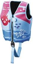 Beco Sealife – Zwemvest kind – Drijfvest voor kinderen van 18-30 kg  – Maat M - Blauw/Roze