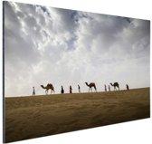 Woestijn India  Aluminium 90x60 cm - Foto print op Aluminium (metaal wanddecoratie)