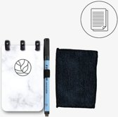 GreenBook Pocket - Marble - A7 - Whiteboard Notebook