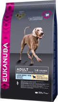 Eukanuba Dog Adult - Large Breed - Lam/Rijst - Hondenvoer - 2,5 kg