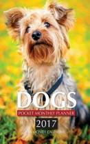 Dogs Pocket Monthly Planner 2017