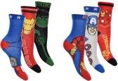 6 paar sokken Marvel Avengers maat 27-30