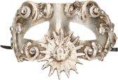Venetiaans barok oogmasker zilver