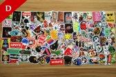 100x Skateboard stickers | Decals | Skateboard pimpen Set | Skating | Set 4