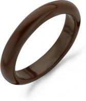 Blush ring keramiek bruin