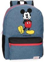 Disney Backpack M Mickey Blue