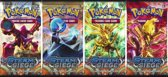 Pokemon Boostersets Steam Siege (serie van 4 stuks)