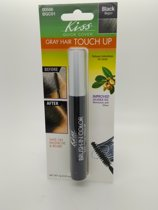 Kiss Quick Cover Gray Hair Touch Up Brush #00586 BGC01 Black 0.25oz