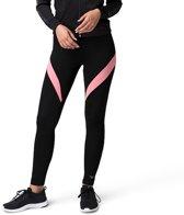 Body & Fit Sportswear Mila Legging-Black / Peach-M