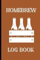 Homebrew Log Book: Novelty Home Brew Beer gifts for Home Brew lovers.Funny, Gift, birthday, Christmas.120 pages Lined Paperback Journal.
