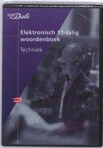 Van Dale Elektronisch 11-talig woordenboek Techniek