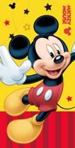 Disney Mickey Mouse Yellow - Strandlaken - 75 x 150 cm - Geel