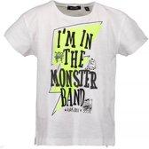 Blue Seven Jongens t-shirt - wit - Maat 116