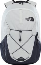 The North Face Jester Rugzak - Unisex - Rainy Day Ivory Dark Heather/Weathered Black