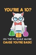 Funny Chemistry Notebook - Biochemist Journal Planner: Pun Material Scientist Organizer For Men Women Dot Grid