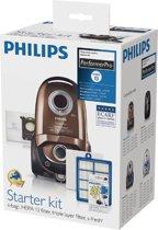 Philips FC8060/01 - Starterkit met 4x stofzakken, 4x geurkorrels, 1x HEPA13 uitblaasfilter en 1x motorfilter