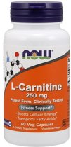 L-Carnitine Now Foods 60caps
