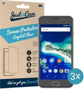 Just in Case Screen Protector General Mobile GM6 - Crystal Clear - 3 stuks
