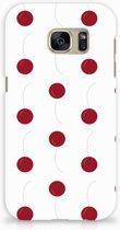 Samsung Galaxy S7 Hardcase Hoesje Design Cherries