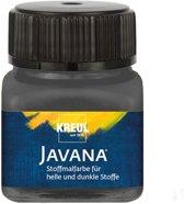 Javana antraciet grijze textielverf 20ml – Voor licht en donker gekleurd textiel