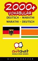 2000+ Deutsch - Marathi Marathi - Deutsch Vokabular