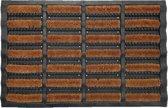 Borstelmat - Java 45x75cm - kokosborstels - super schraper