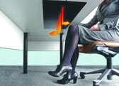 Dimbare bureauverwarming (infrarood)