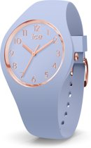 Ice Watch IW015329 ICE glam colour Horloge - Siliconen - Blauw - Ø 34mm