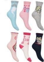 6 paar sokken Disney Frozen maat 27-30