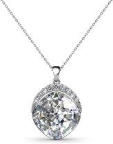 Yolora ketting - Swarovski kristal - Zilverkleurig - 2mm - Dames - Spotlight