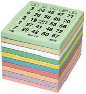 Bingokaarten - Bingo Bloks - Bingo Blokken 5x100 / 1-75