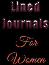 Lined Journals for Women