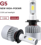 H7 Led headlight 100 w 16000 lumen! super helder 6000k