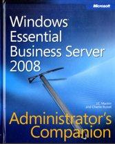 Windows Essential Business Server 2008 Administrator's Companion