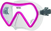 Seac   duikbril    Zenith MD   transparant silicone   Roze