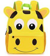 Kinderrugzak lichtgewicht ergonomisch waterdicht, en praktisch cadeau | Schattige schooltas | ook leuk als luieretui |Lunch box|Mini Rugzak | Rugtas kleuter peuter waterdicht |Giraffe