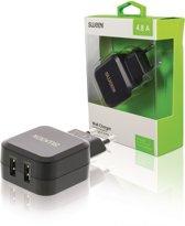 Sweex dubbele USB lader - 4,8A / zwart