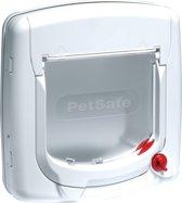 Petsafe 300 Deluxe Kattenluik - 24,1 x 25.2 x 25.2 cm - Wit