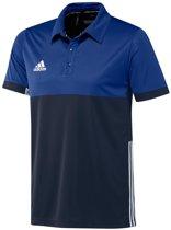 adidas T16 'Oncourt' Polo Heren - Shirts  - blauw donker - XXS