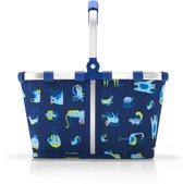 Reisenthel Carrybag Xs Kids Boodschappenmand - Maat XS - Polyester - 5 L - ABC Friens Blue Blauw; multi kleur